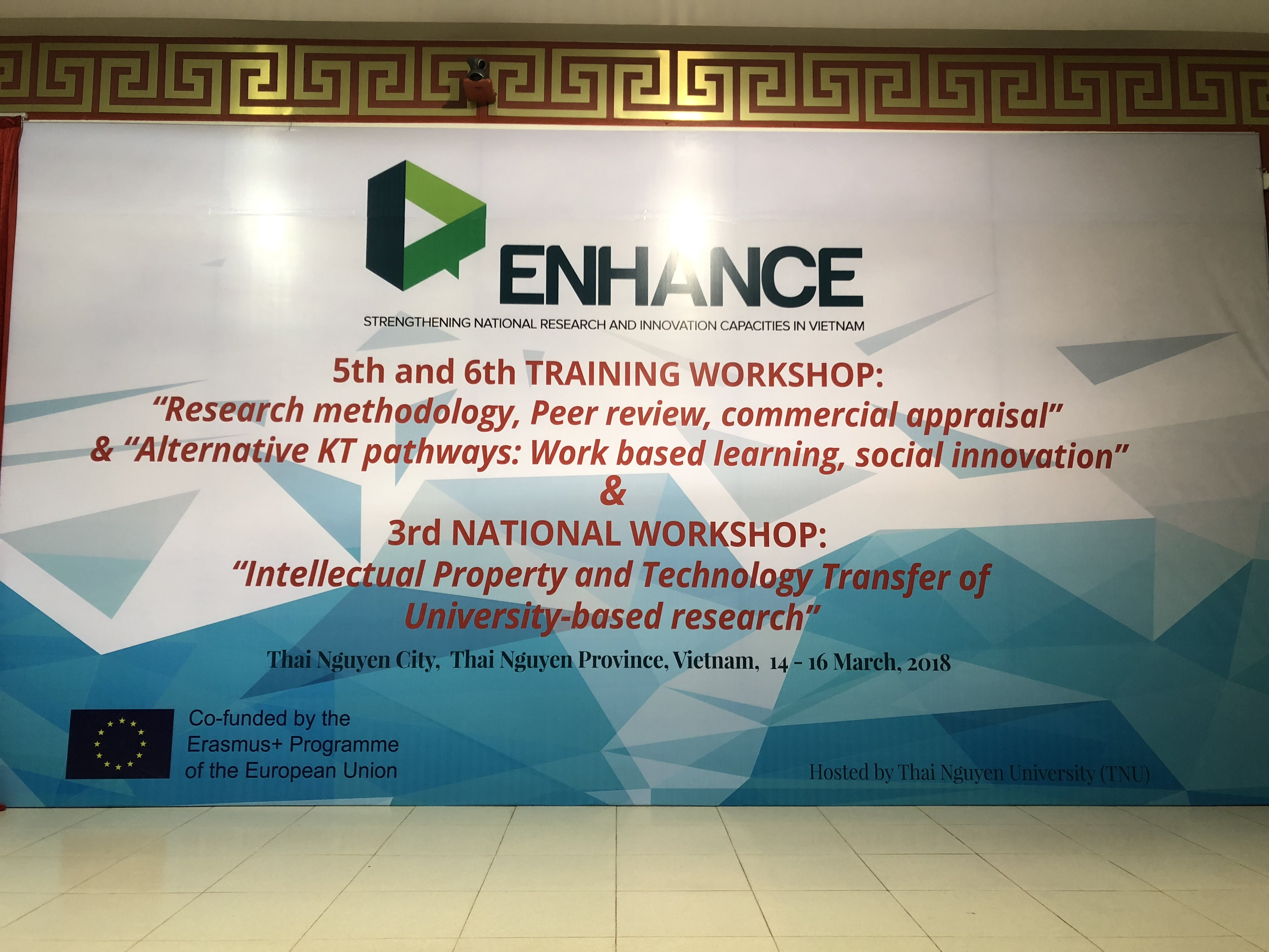 ENHANCE 5th&6th Training Workshops | ENHANCE